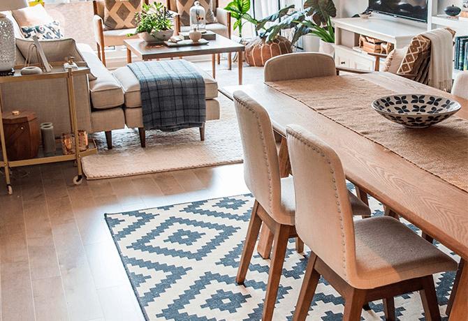 La alfombra perfecta para tu sala y comedor | Solitec ...